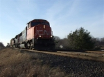 CN 5781 On a snowless January day